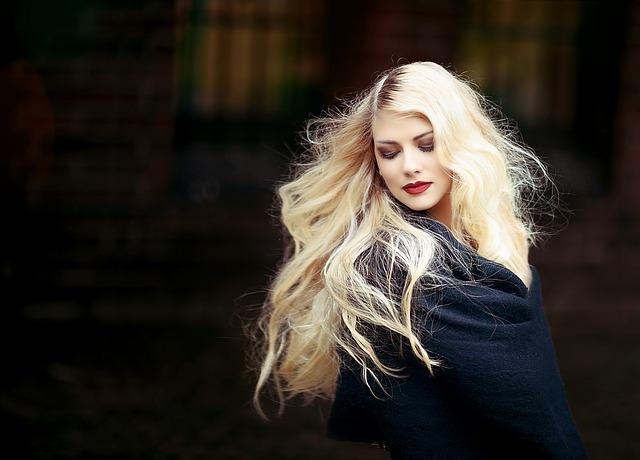 chevelure blonde